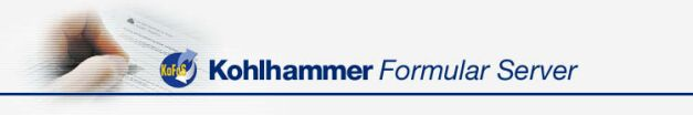 Kohlhammer Formular Server
